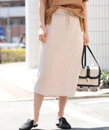 ViS/【WEB限定】ワッフルタイトスカート/502022092