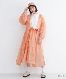 merlot/シースルーナイロンコート/502022729