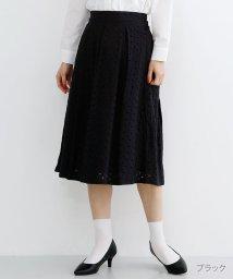 merlot/【TVドラマ着用】【plus】カットワークレースボックスタックスカート/502022891