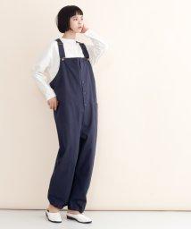 merlot/【IKYU】コットンエンジニアオーバーオール/502022921