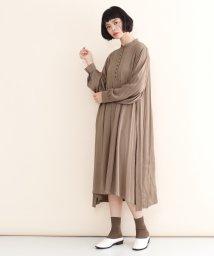 merlot/【IKYU】ヴィンテージ風コットンワンピース/502022922