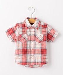 SHIPS KIDS/SHIPS KIDS:シャーリング チェック シャツ(80~90cm)/502022956