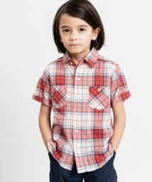 SHIPS KIDS/SHIPS KIDS:シャーリング チェック シャツ(100~130cm)/502022957