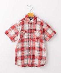 SHIPS KIDS/SHIPS KIDS:シャーリング チェック シャツ(145~160cm)/502022959