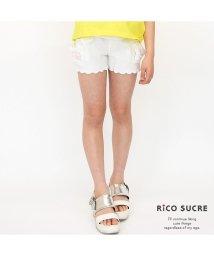 RiCO SUCRE/裾スカラップショートパンツ/502023334