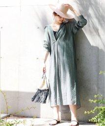 journal standard  L'essage /シアーストライプシャツワンピース◆/502023468
