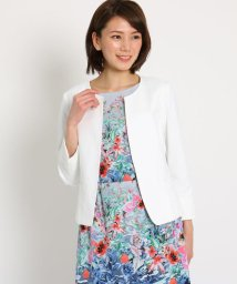 SunaUna/【洗える】コットンブレンド ジャケット/502024711