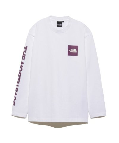 【THE NORTH FACE】L/S SQ LG SLEEVE T