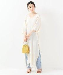IENA/CARAVANA 裾フリンジワンピース/502025292