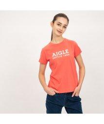 AIGLE/W DFT AIGLEロゴT半袖/501930426