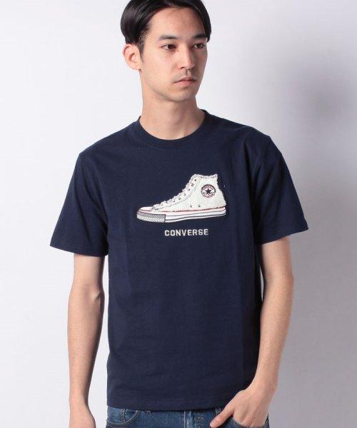 JNSJNM(ジーンズメイト メンズ)/【CONVERSE 】シューズサガラシシュウTシャツ/205292007