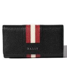 BALLY/【BALLY】メンズ ブラック ボヴィンレザー キーケース/501996672