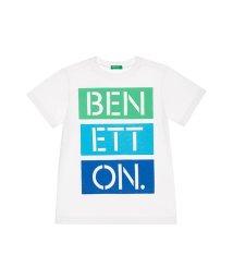 BENETTON (UNITED COLORS OF BENETTON BOYS)/カラフルロゴ半袖Tシャツ・カットソー/502000679