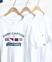 coen/マリンプリントTシャツ/502010925