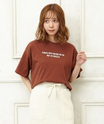 INGNI/NK天竺胸ロゴ刺繍T/502014362