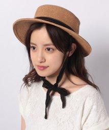 Noela/リボン付カンカン帽/502014372