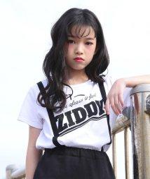 ZIDDY/【ニコプチ掲載】天竺サスペンダー風Tシャツ/502025655