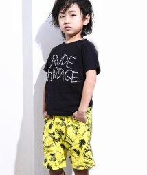 RAD CUSTOM/【カタログ掲載】綿麻ヤシの木アロハ柄パンツ/502025663