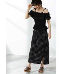 PROPORTION BODY DRESSING/デシンドットマキシスカート/502025737