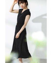 PROPORTION BODY DRESSING/デシンドット開襟フレアワンピース/502025741