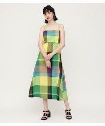 SLY/GRADATION CHECK STRAP FLARE OP/502025852