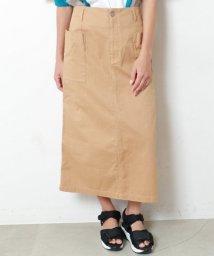 DOUBLE NAME/ポケット付ピケスカート/502026050