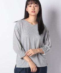 MELROSE Claire/袖口ゴムタックデザインミニ裏毛プルオーバー/501999389