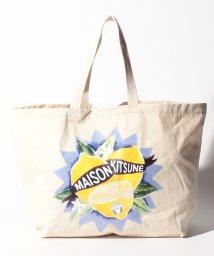 MAISON KITSUNE/【MAISON KITSUNE 】XXL LIMONE トートバッグ/502008497