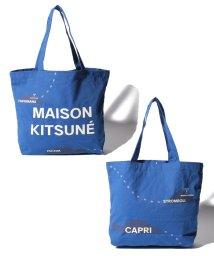 MAISON KITSUNE/【MAISON KITSUNE 】ALL-OVER MAPPA トートバッグ/502008499