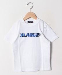 XLARGE KIDS/迷彩ロゴTシャツ/502014668