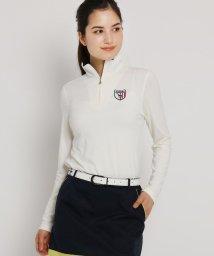 adabat/ハーフジップシャツ レディース/502026536