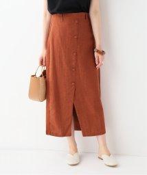 SLOBE IENA/RITA ROW フロントボタンスカート/502026844