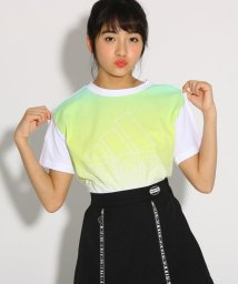 PINK-latte/adidas グラデーションTシャツ/502027865