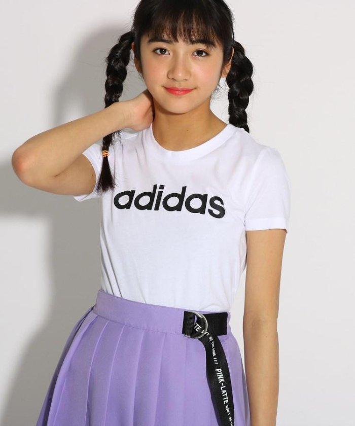 adidas ベーシックロゴTシャツ
