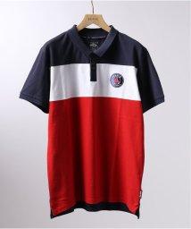 EDIFICE/Paris Saint-Germain / パリサンジェルマン BLOCK ポロシャツ/502028365