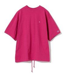 BEAMS MEN/Champion × BEAMS / 別注 ビッグ フェイク Tシャツ/500825581