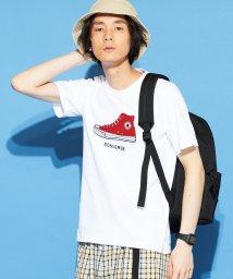 WEGO/別注コンバースサガラシューズ刺繍T(S)/501508070