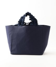 LE JOUR/【CACHELLIE】FRILL HANDLE CANVAS TOTE(M)/501906105