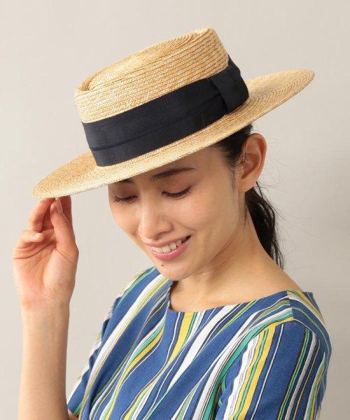 AMACA(アマカ)/【AMACA×田中帽子店】 カンカン帽/V5585133--