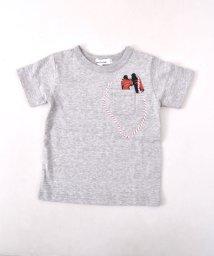 Noeil aime BeBe/【カタログ掲載】天竺双眼鏡Tシャツ/501983058