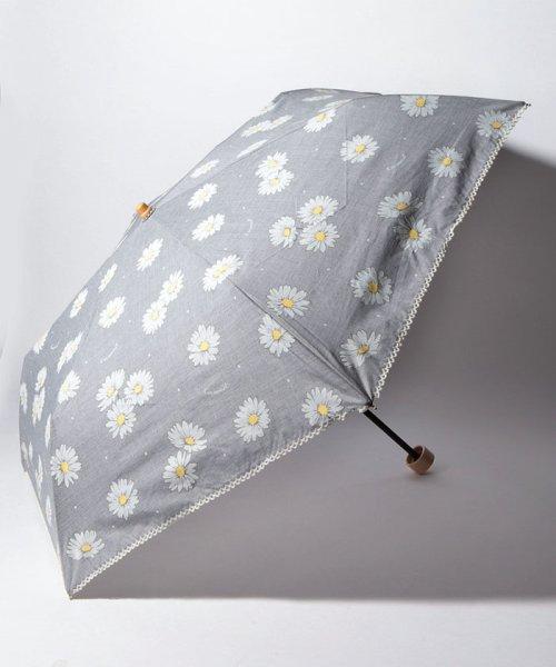 Cocoonist(コクーニスト)/フラワー柄晴雨兼用折りたたみ傘 日傘/QS0818311514