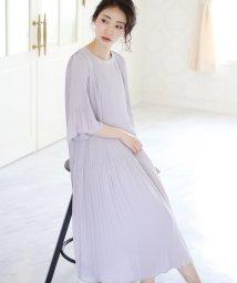 Bou Jeloud/【結婚式・二次会】総プリーツワンピース/502015865