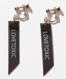 Lovetoxic/ラメテープクリアイヤリング/502018493