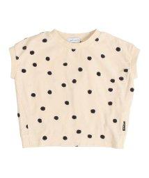 quoti use fith/ポコポコドットJQテンジクヘンケイサークル 半袖 Tシャツ/502024364