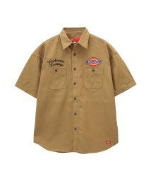 MAC HOUSE(men)/Dickies ワークシャツ 9270-1403/502026875