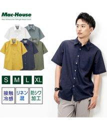 MAC HOUSE(men)/Free Nature Linen 半袖シャツ NG193-MF011/502026879