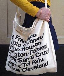 maison de LATIR/おしゃれなロゴデザインの入った、布製ショルダーバッグ。/502027820