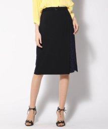 VICKY/【WEB&一部店舗別注】異素材レースラップスカート/502029077