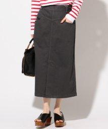 SHIPS WOMEN/オーバーダイコットンスカート/502029736