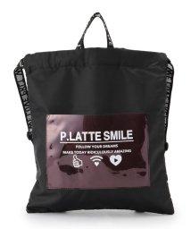 PINK-latte/クリアポケットナップサック/502029871